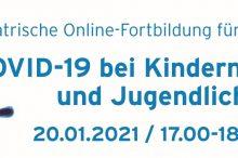 """Online-Seminar """"COVID-19 bei Kindern und Jugendlichen"""". Fortbildung für Ärzt*innen"""