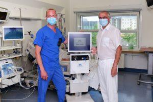Erster COVID-19-Patient in Deutschland erfolgreich mit neuer Zwerchfelltherapie behandelt