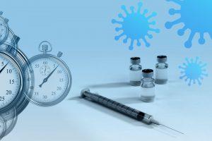Erste Probanden erhalten im Rahmen der klinischen Phase-I-Studie Impfstoff gegen COVID-19