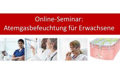 Online-Seminar:  Atemgasbefeuchtung für Erwachsene