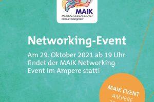 MAIK Networking Event trotz Kongressabsage