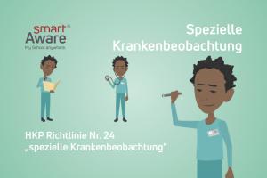 Jetzt online schulen: Rechtliche Grundlagen der Leistung spezielle Krankenbeobachtung