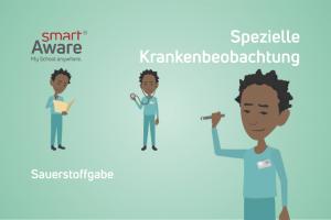 Jetzt online schulen: Die sachgerechte Verabreichung von Sauerstoff im Rahmen der Behandlungspflege