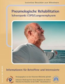 Neuer Patientenratgeber erschienen: Pneumologische Rehabilitation – Schwerpunkt COPD/Lungenemphysem