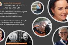 """MAIK Onlinetalk """"Leben mit außerklinischer Intensivpflege ist vielfältig"""" am 13. Oktober 2021"""